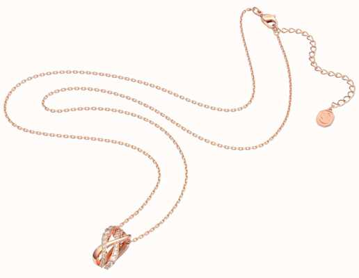 Swarovski Twist | Necklace | Rose Gold-Tone Plated | White 5620549