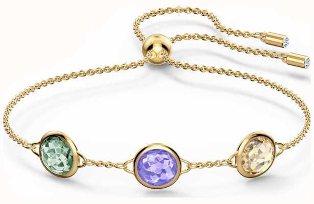 Swarovski Tahlia | Bracelet | Gold-Tone Plated | Multi-Coloured 5565550