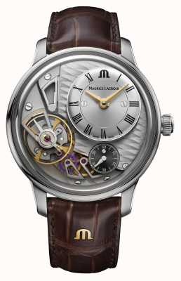 Maurice Lacroix Masterpiece Gravity Skeleton Dial Watch MP6118-SS001-115-1
