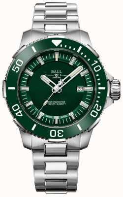 Ball Watch Company DeepQUEST Ceramic Green Bezel and Dial DM3002A-S4CJ-GR