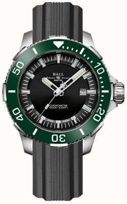 Ball Watch Company DeepQUEST Ceramic Green Bezel Rubber Strap DM3002A-P4CJ-BK