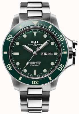 Ball Watch Company Men's Engineer Hydrocarbon Original (43mm) Green Dial DM2218B-S2CJ-GR