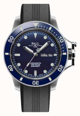 Ball Watch Company Men's Engineer Hydrocarbon Original (43mm) Black Rubber Strap DM2218B-P1CJ-BE