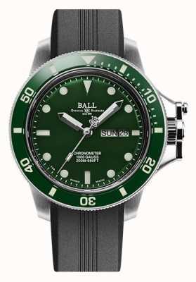 Ball Watch Company Engineer Hydrocarbon Original (43mm) Green Dial Rubber Strap DM2218B-P2CJ-GR