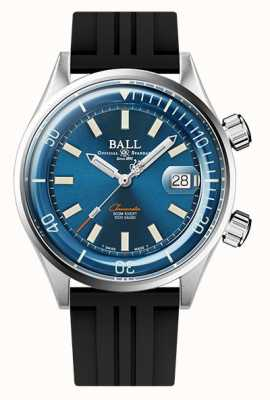 Ball Watch Company Engineer Master II Diver Chronometer Blue Dial Rubber Strap DM2280A-P1C-BE