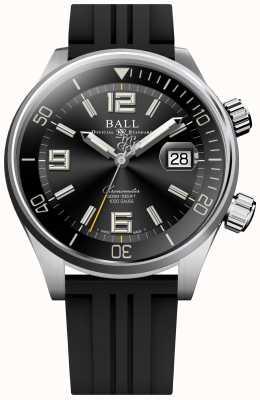Ball Watch Company Diver Chronometer Black Rubber Strap Watch DM2280A-P2C-BK
