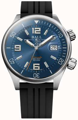 Ball Watch Company Diver Chronometer Blue Sunray Dial Rubber Strap DM2280A-P2C-BE