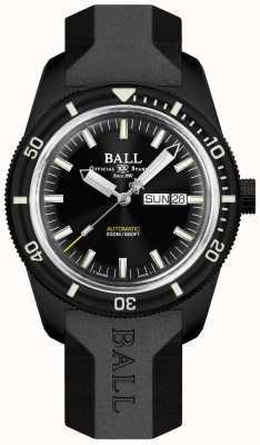 Ball Watch Company Skindiver Heritage Black Rubber Strap DM3208B-P4-BK