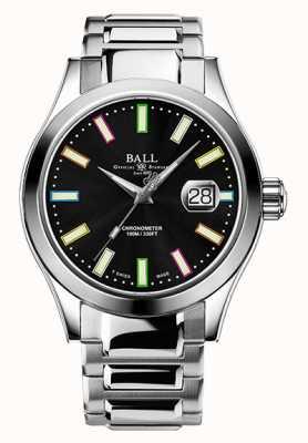 Ball Watch Company Marvelight Chronometer (43mm) - Caring Edition NM9028C-S29C-BK