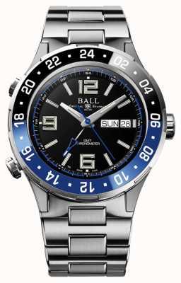 Ball Watch Company Roadmaster Marine GMT Ceramic Blue and Black DG3030B-S1CJ-BK