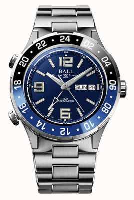 Ball Watch Company Roadmaster Marine GMT Ceramic Bezel Blue Dial DG3030B-S1CJ-BE