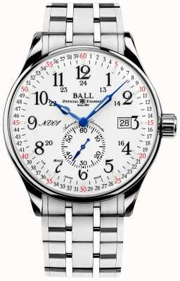 Ball Watch Company Railroad Standard 130 Years Trainmaster NM3888D-S3CJ-WH