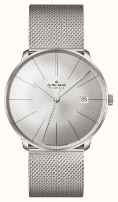 Junghans Meister Fein Automatic | Steel Mesh Strap 27/4153.44