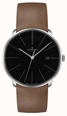 Junghans Meister Fein Automatic Leather Strap 27/4154.00