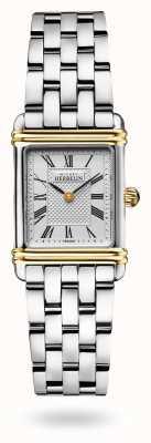 Michel Herbelin Art Deco Stainless Steel Bracelet Watch 17478/T08B2