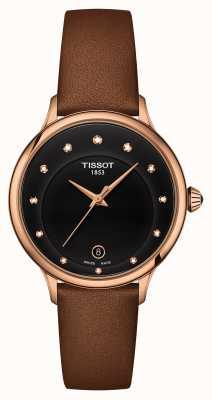 Tissot Odaci-T Black Diamond Set Dial T1332103605600