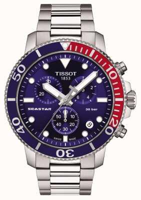 Tissot Seastar 1000 Quartz Chronograph Blue T1204171104103