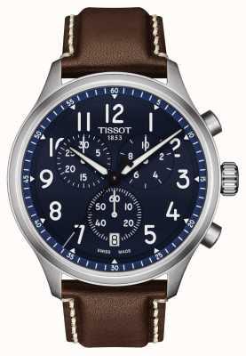 Tissot Chrono XL Vintage Blue Dial Watch T1166171604200