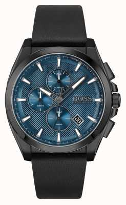 BOSS | Grandmaster Sport Lux | Black Leather Strap | 1513883