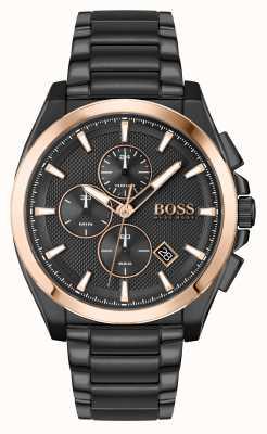 BOSS | Grandmaster Sport Lux | Black PVD Bracelet | 1513885