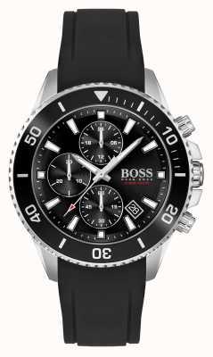BOSS | Admiral Athleisure | Black Rubber Strap | 1513912