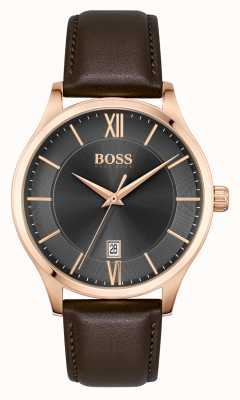 BOSS | Elite Business | Brown Leather Strap | 1513894