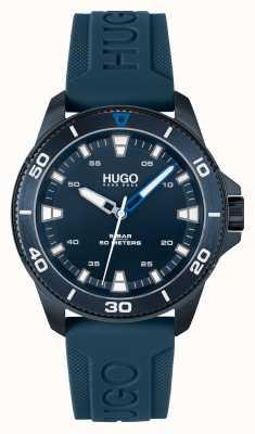 HUGO # STREETDIVER Casual Blue Blue 1530223