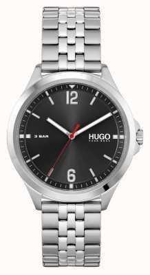 HUGO #SUIT Business | Black Dial | Stainless Steel Bracelet 1530216