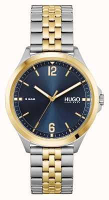 HUGO #SUIT Business | Blue Dial | Two Tone Steel Bracelet 1530219