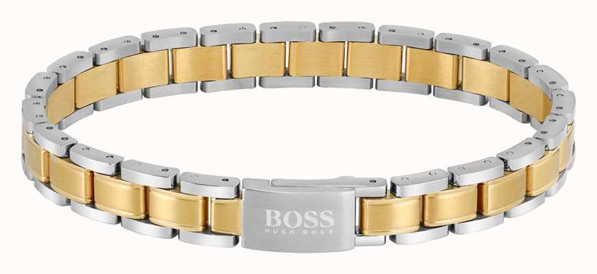 BOSS Jewellery Men's Essentials Two Tone Bracelet 1580195