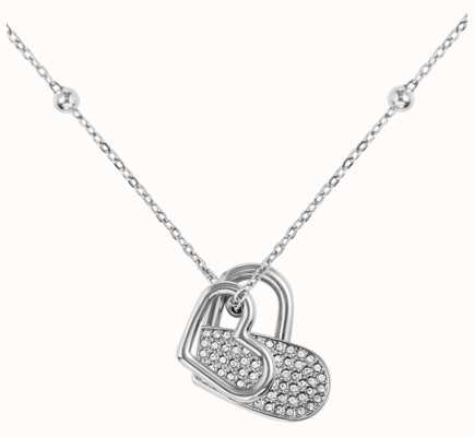 BOSS Jewellery Soulemate Stainless Steel Heart Necklace 1580217
