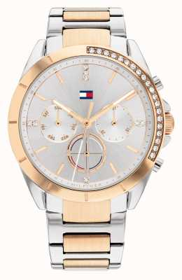 Tommy Hilfiger Kennedy Sport Two Tone Silver Dial 1782387