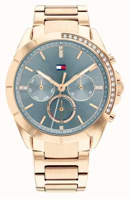 Tommy Hilfiger Kennedy Sport Two Tone Blue Dial 1782386