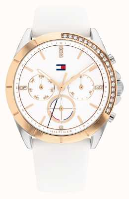 Tommy Hilfiger Kennedy Sport White Dial Silicone 1782388