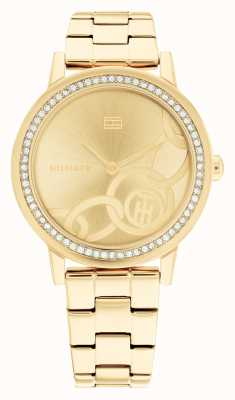 Tommy Hilfiger Maya Gold Plated Steel Gold Dial 1782437