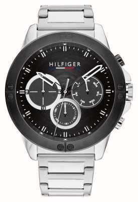 Tommy Hilfiger Harley Stainless Steel Black Dial 1791890