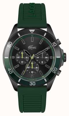 Lacoste TIEBREAKER Green Silicone Watch 2011153