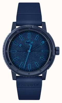 Lacoste CHALLENGER Blue Silicone Strap 2011083