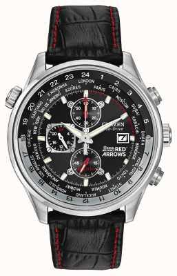 Citizen Red Arrows Chronograph Leather Strap CA0080-03E