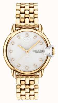 Coach Women's Arden Gold Plated Bracelet Watch 14503819