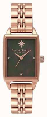 Olivia Burton Celestial North Star Rectangle Dial Watch OB16GD80