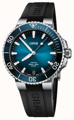 ORIS Aquis Date Calibre 400 41.5mm Blue Dial Rubber Strap 01 400 7769 4135-07 4 22 74FC