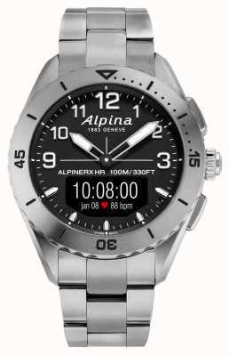Alpina | AlpinerX Alive | Titanium Smartwatch | AL-284LBBW5TAQ1B