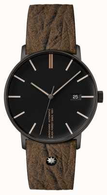 Junghans Form A Edition 160 Brown Leather Strap 27/4132.00