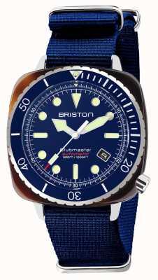 Briston Diver Pro Acetate Navy NATO Strap 21644.SA.T.15.NNB