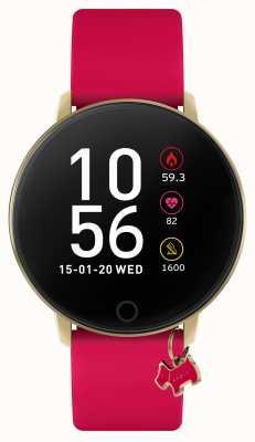 Radley Smart Watch Series 5 Raspberry Pink Strap & Dog Charm RYS05-2036