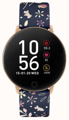 Radley Smart Watch Series 5 Blue Floral Strap RYS05-2046