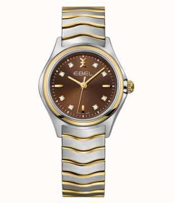 EBEL Wave Women's Dual-Tone Diamond Set Watch 1216318