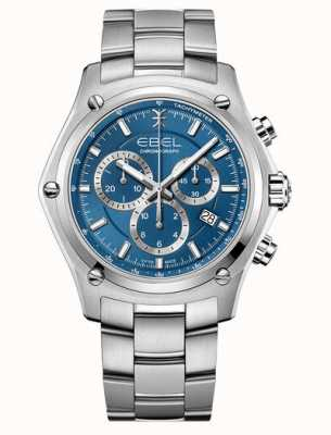 EBEL Discovery Stainless Steel Blue Dial 1216514