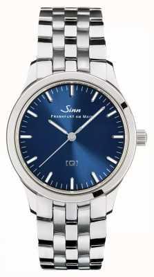 Sinn 434 St B [Q] Technology Blue Sunray Dial 434.012